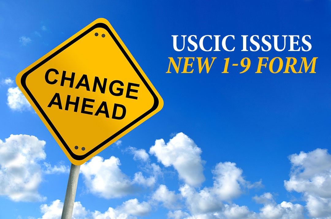 Uscic Issues New I 9 Form Abel