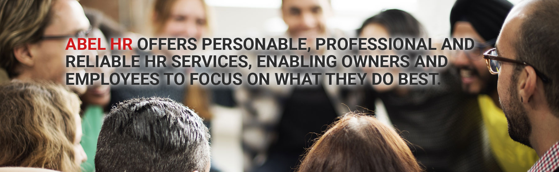 Personable, Professional & Reliable HR Services